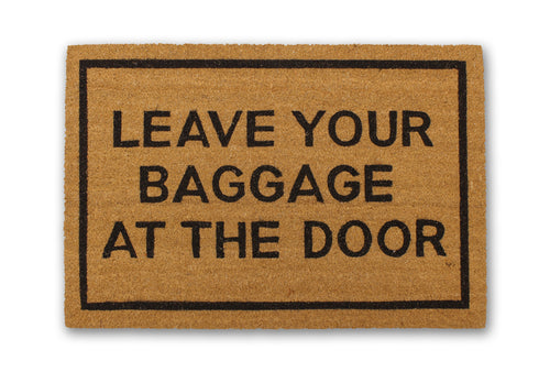 Leave Your Baggage at the Door