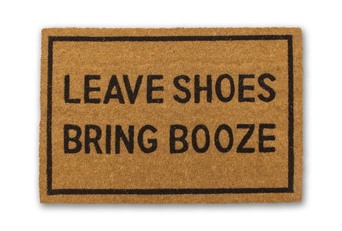 Leave Shoes, Bring Booze