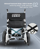 MEDIGLAD - Foldable Lightweight Heavy Duty Electric Power Wheelchair