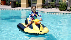 LS - Kids' Inflatable Motorboat Jetski