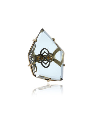 Georgina Jewelry Signature Asymmetric Flower