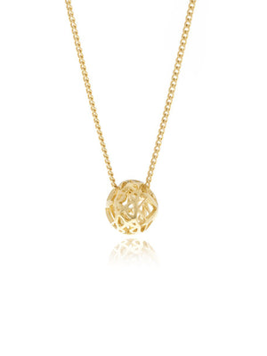 Georgina Jewelry GH070PC Signature Mini Sphere Necklace