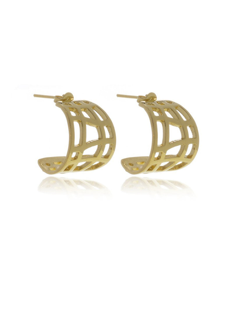 Georgina Jewelry GH072APC Les Racines Gold Earrings