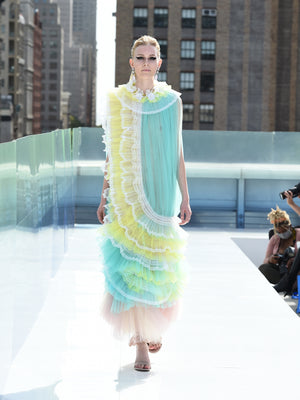 Elmadawy Liner Long tulle dress