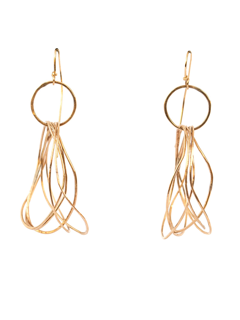 Slate Jewelry Tangle (Gold)