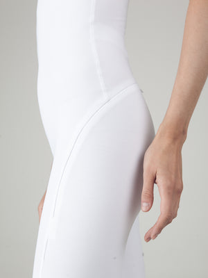 Monoskin White Cycle Monosuit