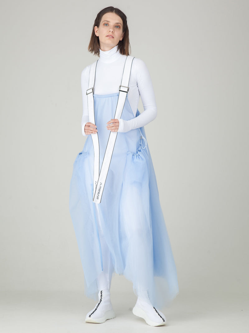 Monosuit Light Blue Parachute Dress