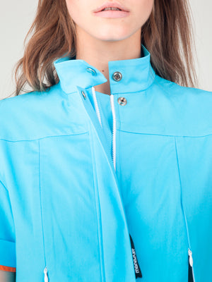 Light Blue Aviator Monosuit