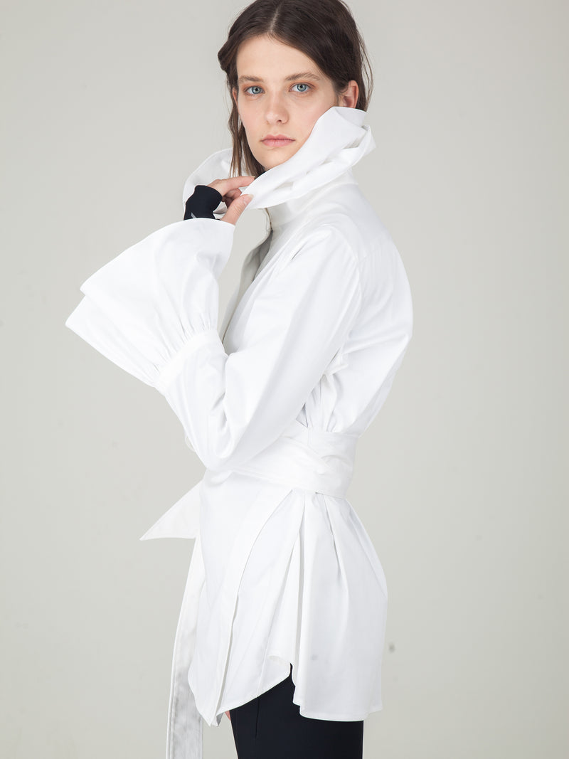 Monosuit White Royal Shirt