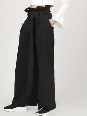 Monosuit Black Milano Pants