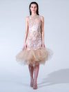 Elmadawy Pearl and Lace Dress