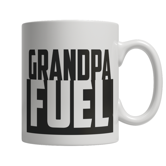 Grandpa Fuel 11 oz White Ceramic Mug