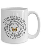 Life Lesson Positive Thinking Ceramic Mug Gift