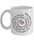 Sentimental Ceramic Mug Is the Perfect Gift for a Cherished Friend or Loved One