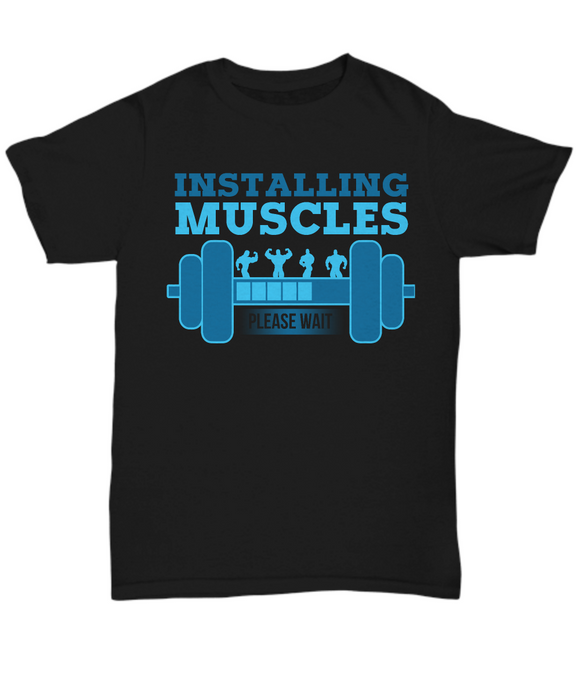 Funny Inspirational Fitness Workout Gym T-Shirt