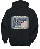Patriotic American Soldier or Veteran Statement Hoodie