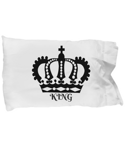 Fit for a King Super-Soft Pillow Case