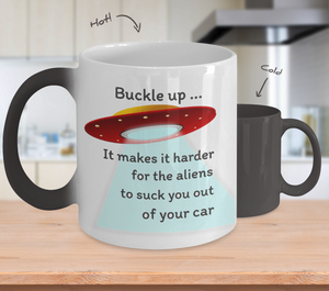 Alien UFO Magic Mug