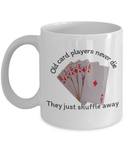 Funny Ceramic Mug for Card Players Gift