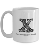 Funny Alien UFO X-Files Gag Gift Large 15 oz Ceramic Mug