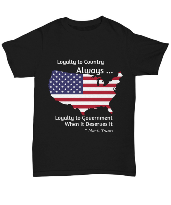 Patriotic Political T-shirt