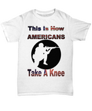 Patriotic American Soldier or Veteran Statement T-Shirt