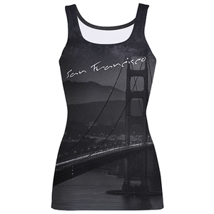 San Francisco Print Fashion Tank Top