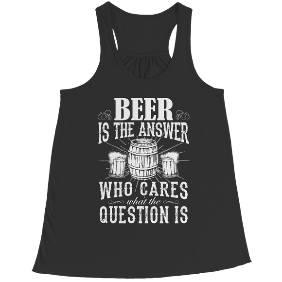 Funny Brew Lovers Bella Flowy Racerback Tank Top