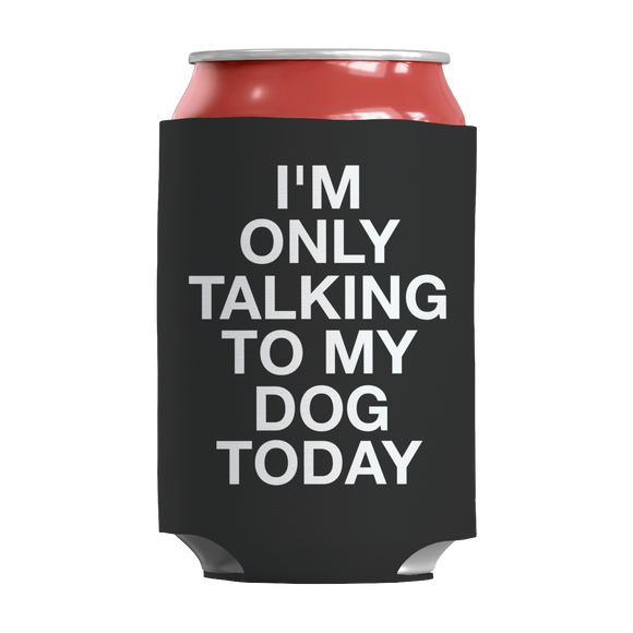 Dog Funny Insulated Neoprene Can Wrap