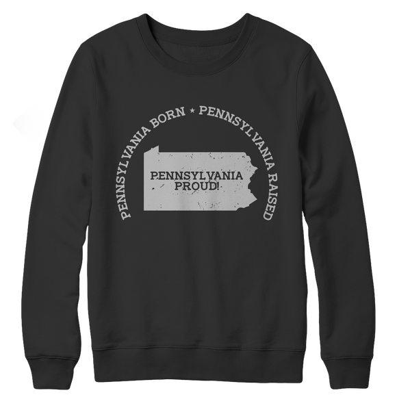 Pennsylvania Proud Crewneck Fleece Sweatshirt