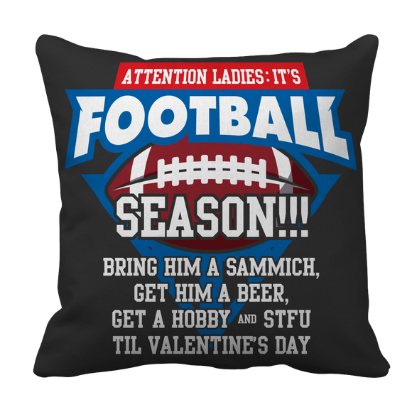 Football Funny Sarcastic Pillow Case