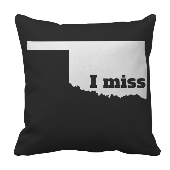 Oklahoma State Pride Pillow Case