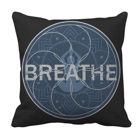 Yoga Breathe Pillow Case
