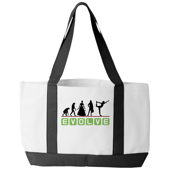 Yoga Evolve Tote Bag