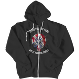 Stand for the Flag, Kneel for the Cross Zipper Hoodie - LIMITED EDITION
