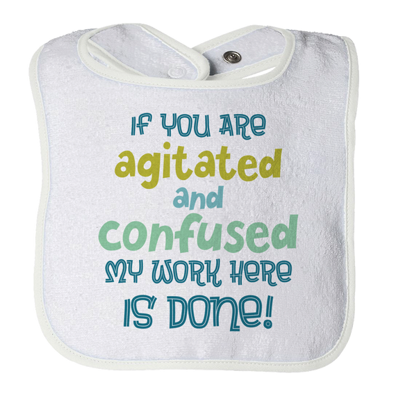 Adorable Baby Bib