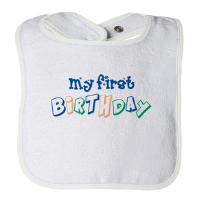 My 1st Birthday - Baby Bib