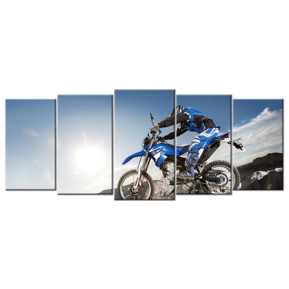 Off Road Canvas Wall Art - Large 5-panel 72 x 32 inches