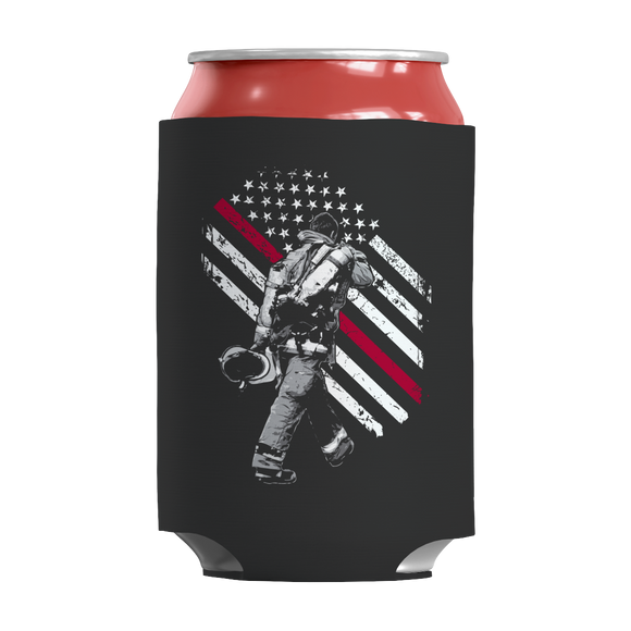 Firefighter Exclusive Thin Red Line Insulated Neoprene Can Wrap