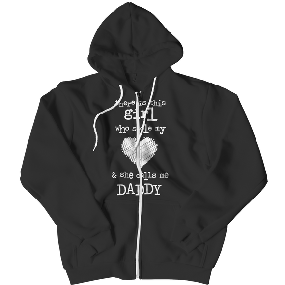 Daddy Daughter Zipper Hoodie