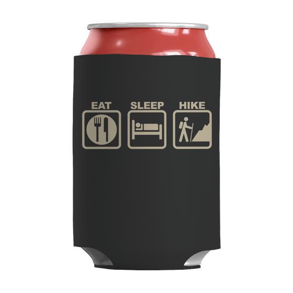 Hiking - Eat Sleep Hike Insulated Neoprene Can Wrap