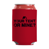 Camping- Your Tent or Mine Insulated Neoprene Can Wrap