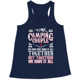Camping Couple Bella Flowy Racerback Tank Top