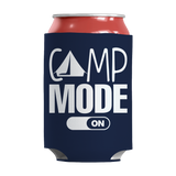 Camp Mode On Insulated Neoprene Can Wrap