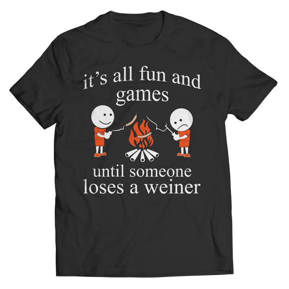 BBQ Grilling Campfire Funny Shirts