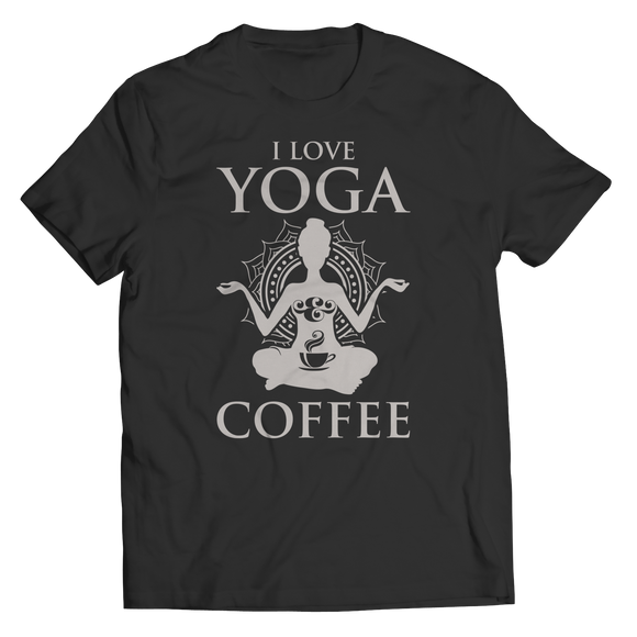 I Love Yoga & Coffee Shirts