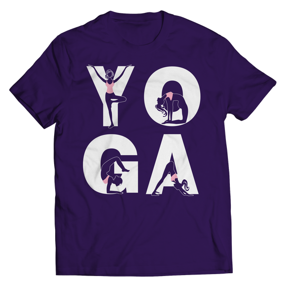 Yoga Positions Shirts
