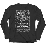 Firefighter Old Time Quality American Warrior Shirts