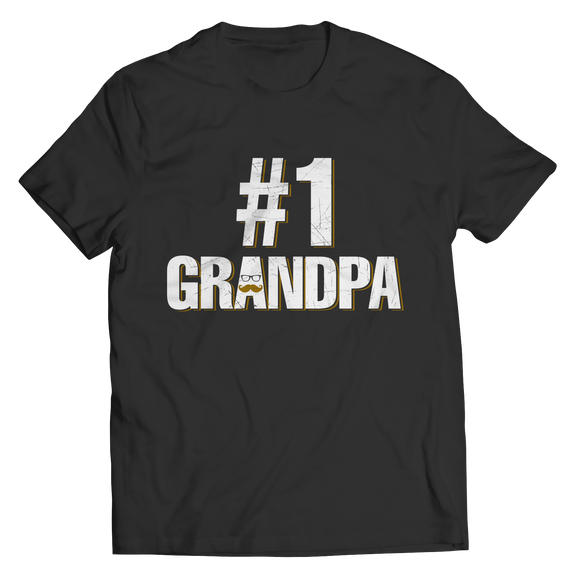 Number 1 Grandpa Shirt