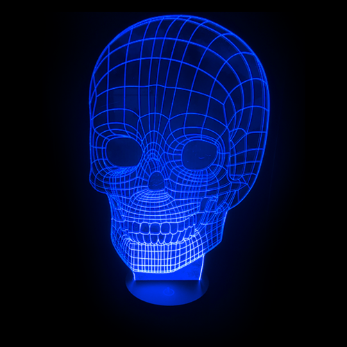 Skull LED Night Light/Lamp